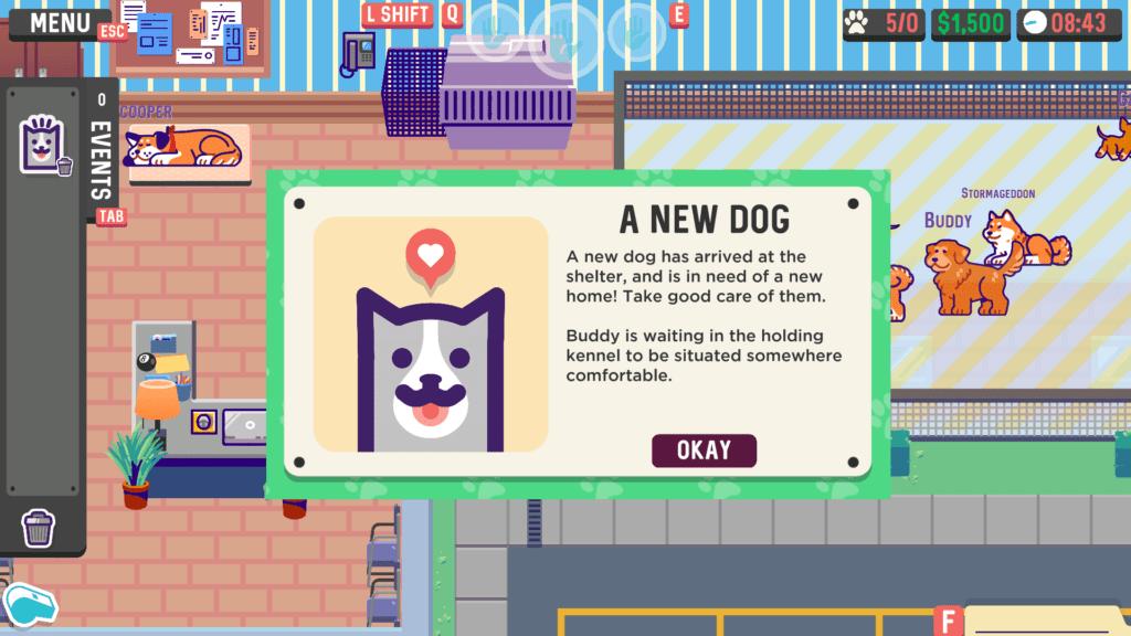 A screenshot of To The Rescue! a dog simulator game.